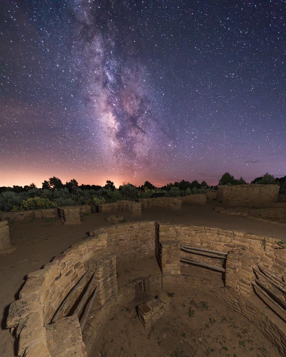 Coyote Village & The Milky Way