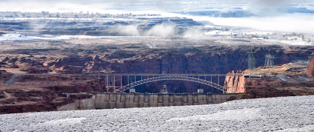 Winter Morning Over Glen Canyon
