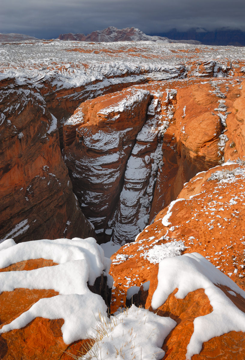 Sunrise Snow at Water Holes