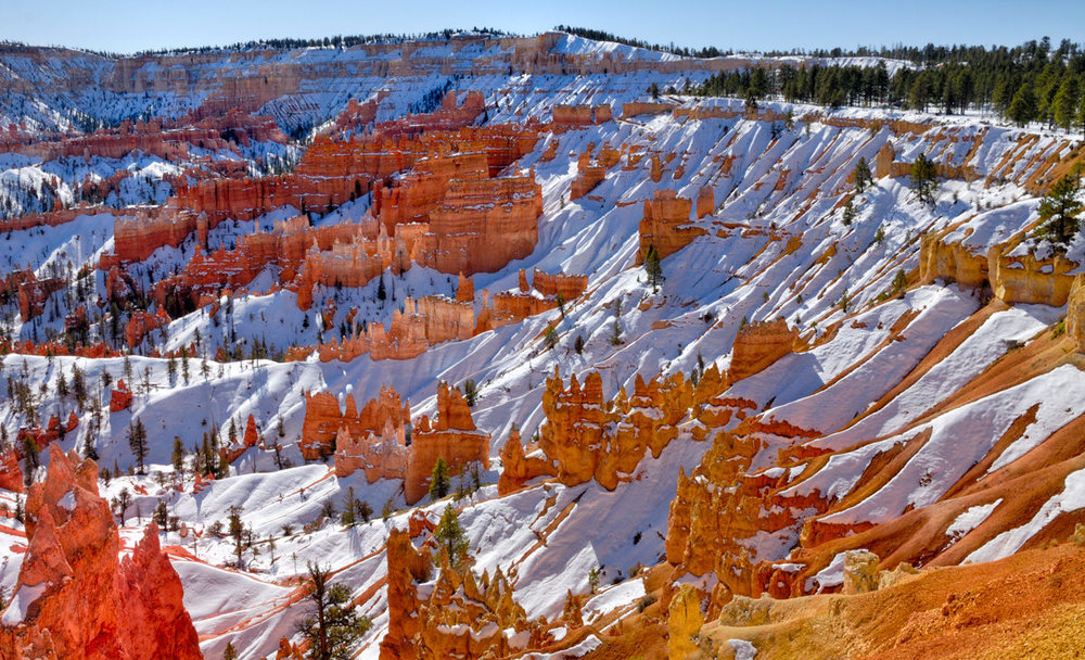 Castles in the Snow, Bryce Canyon