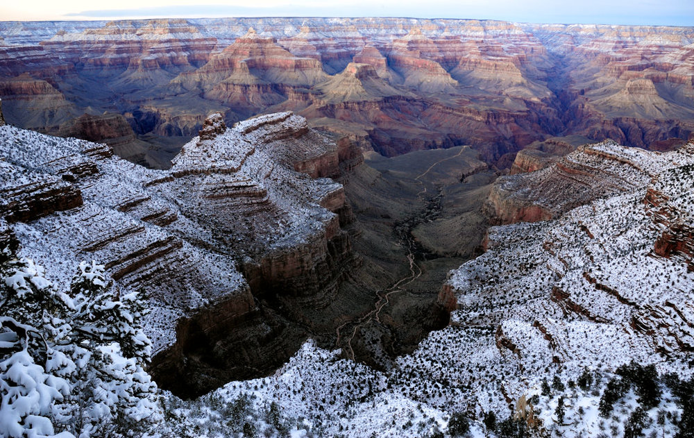 Dusting the Rim, Grand Canyon National Park