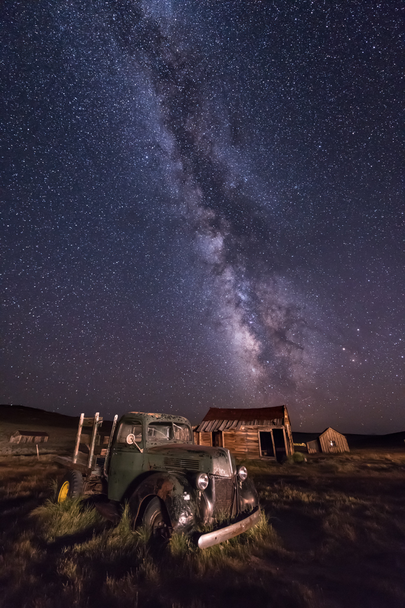 This Old Truck and the Milky Way
