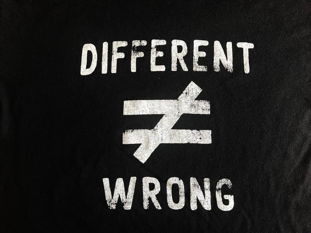 Different Doesn't Equal Wrong words..jpg