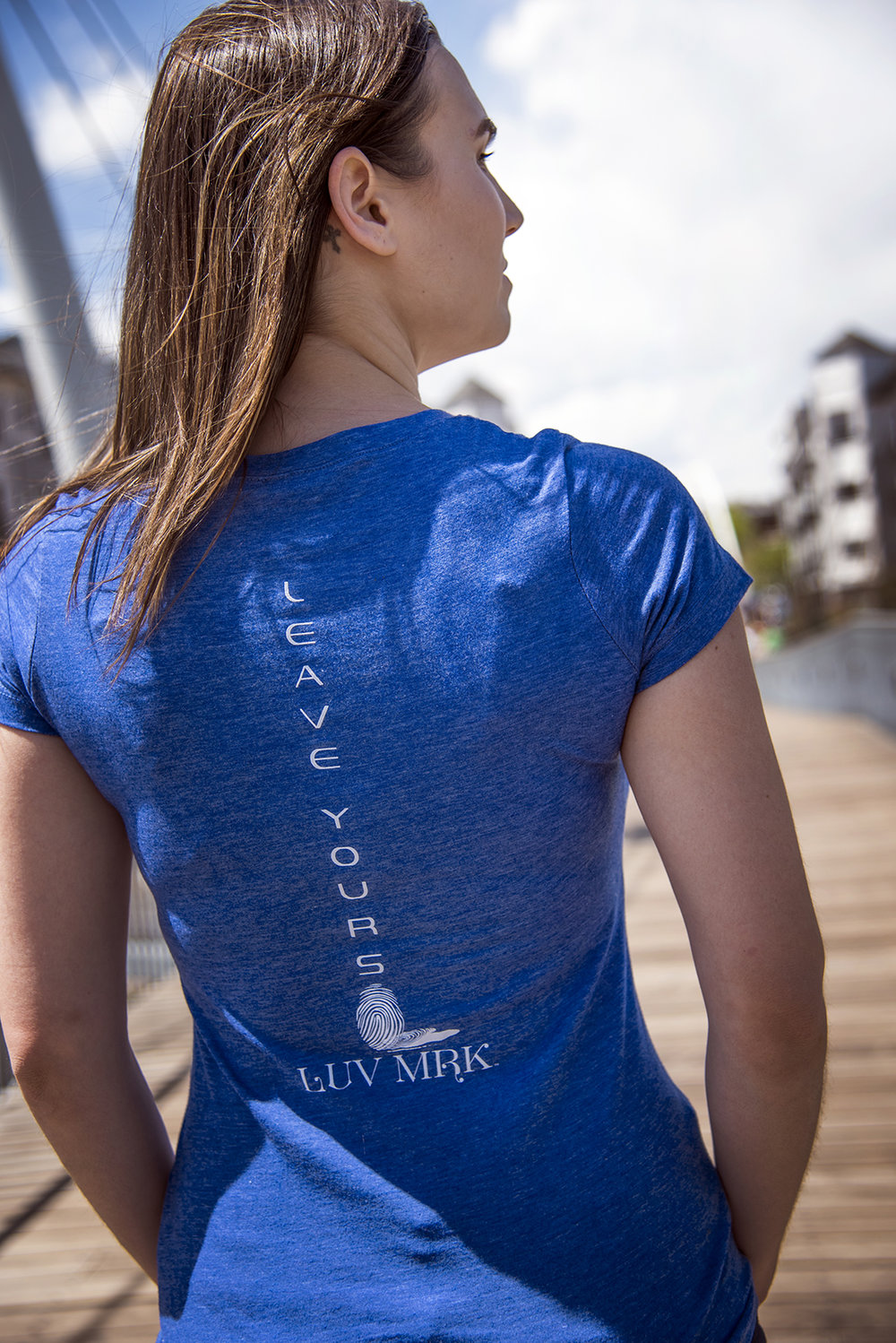 Royal Blue V- Neck. Back. Kayla.jpg