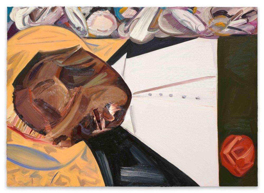 Dana Schutz, Open Casket (2016). Oil on canvas. Collection of the artist; courtesy Petzel, New York.