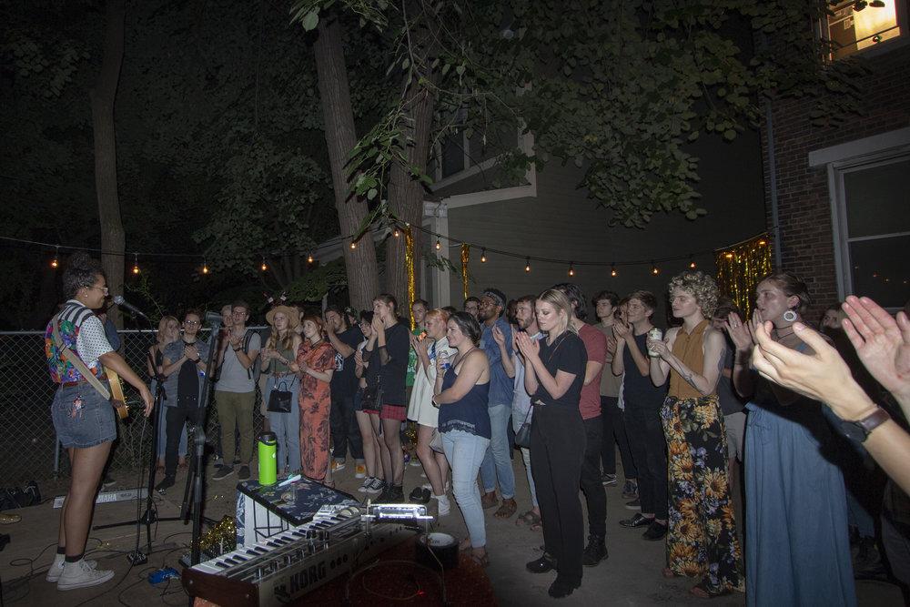 Performance by Brooklynn Rae. Photo courtesy of Nick Mason.