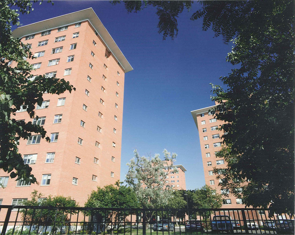Hiawatha Towers. Image courtesy of the Minneapolis Public Housing Authority. MPHA does not endorse any candidate.