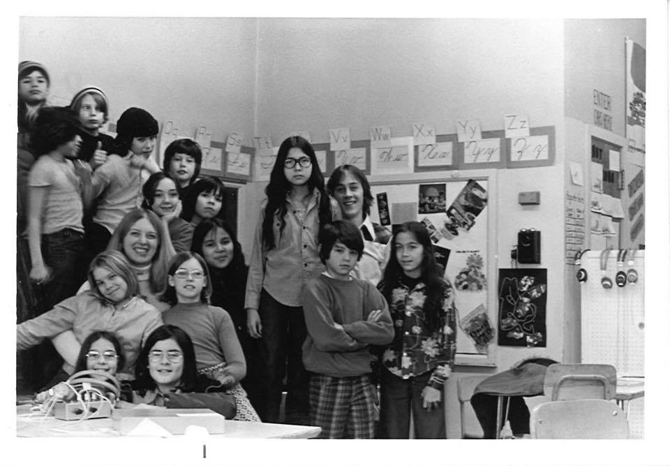 My students and me.