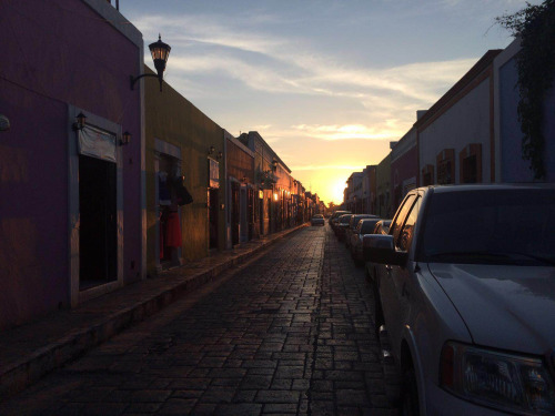 Top photo: Sunset in Campeche, Mexico. Photo by Damian Gonzalez