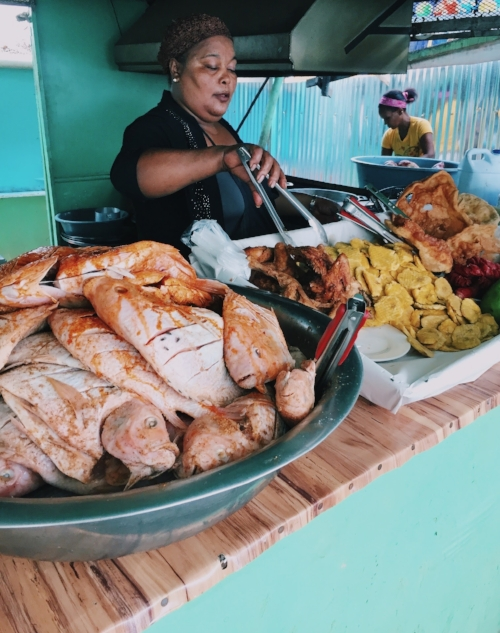 A Boca Chica style fish fry