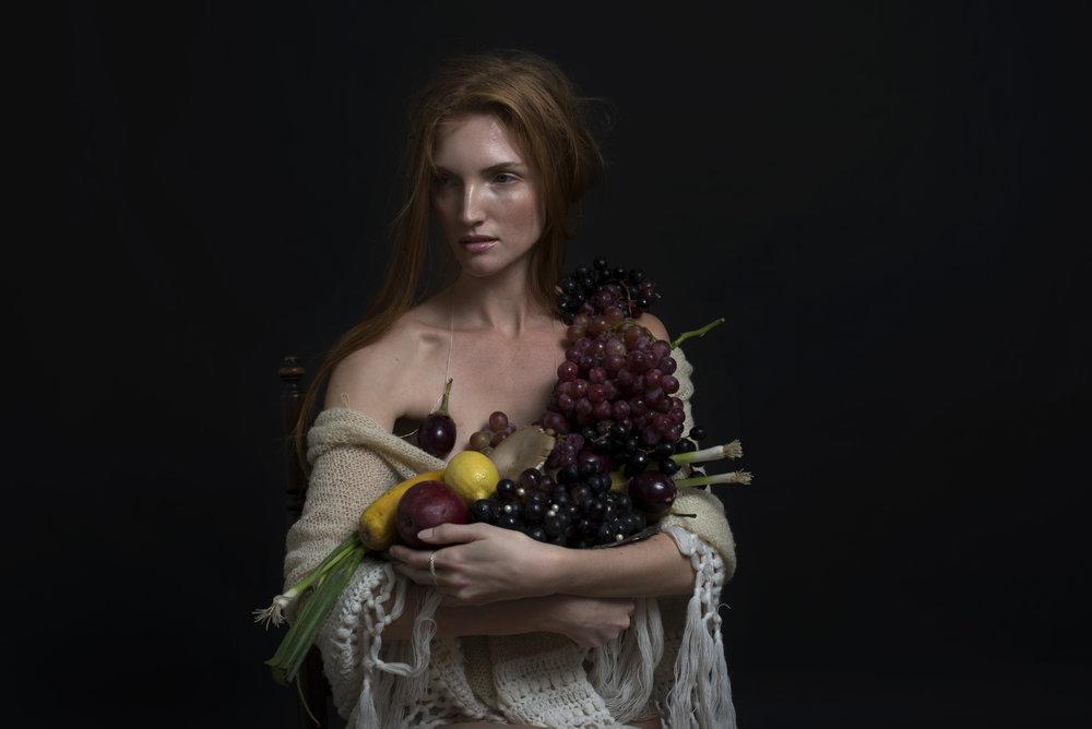 Karen with Fruit.jpg
