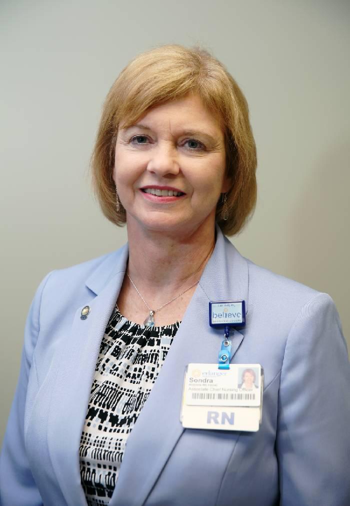 Sondra McInnis, RN, MBA, MHS, FACHE -- Chief Nursing Officer, Erlanger Medical Group, Erlanger Health System -- Administrative Excellence