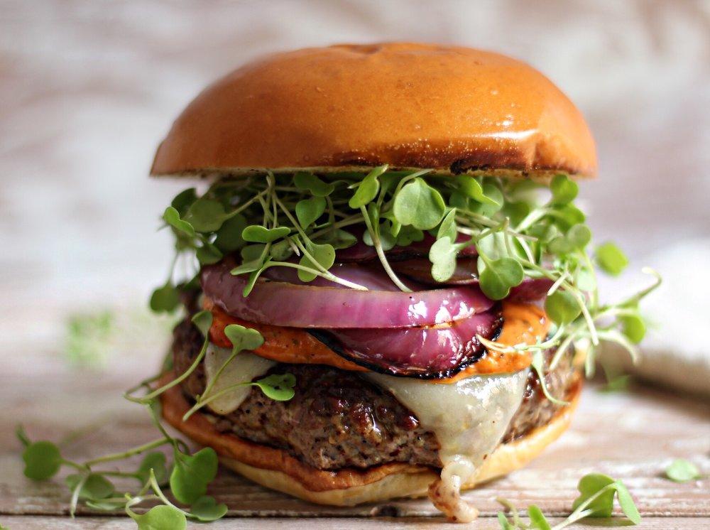Belcampo Lamb Burger
