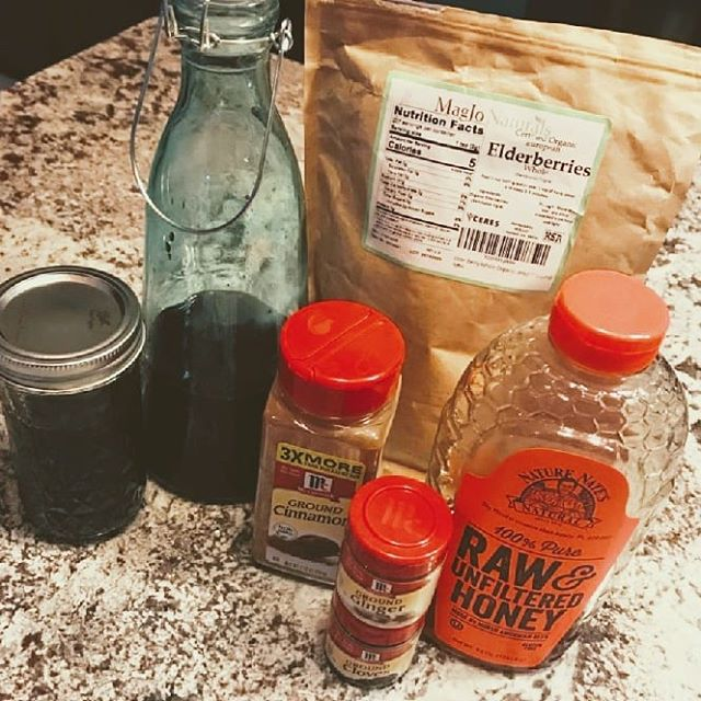 What's on YOUR counter? Tis the season for sniffles! Home remedies adorn our countertops this time of year...yours too?? . . . #elderberries #elderberryjuice #rawhoney #cinnamon #groundginger #cloves #localhoney #unfilteredhoney #fallcold #cough #cold #sickday #mccormick #naturenates #whatsonyourcounter #whatsonyourcountertop #granite #granitecountertops #granitecounters #counters #countertops #heartlandgranite #hgq #topeka #topcity #forbesfield