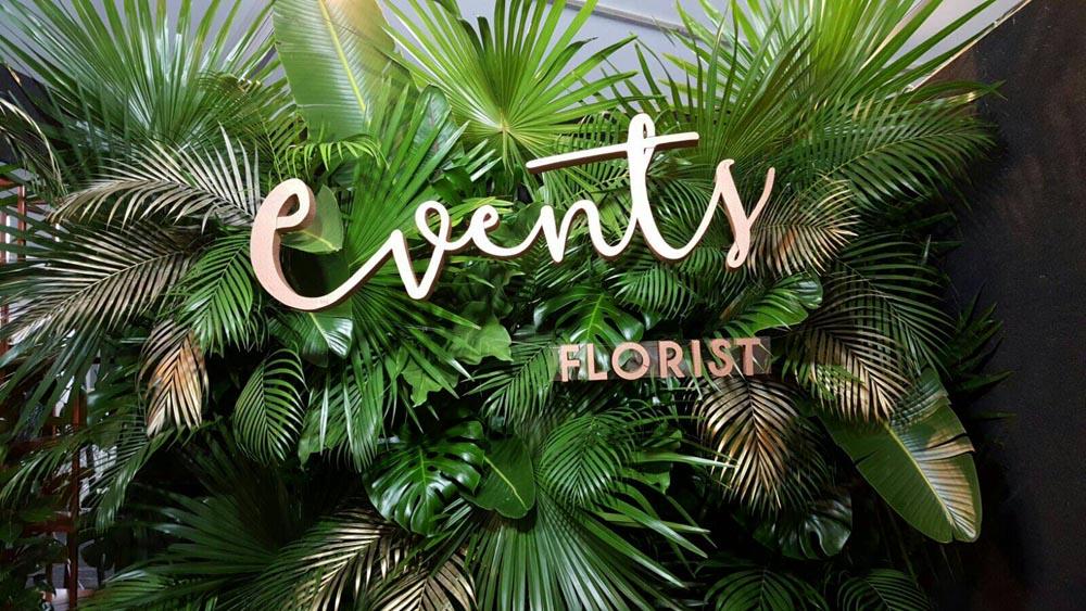 Events Florist Logo