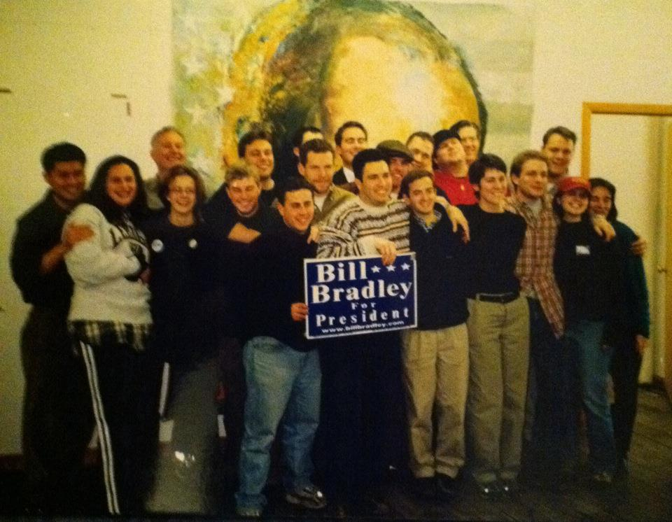 Bill Bradley for President - New Hampshire Team
