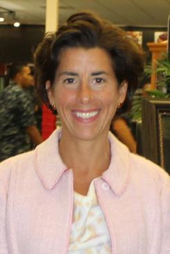 Governor Gina Raimondo (D) Rhode Island