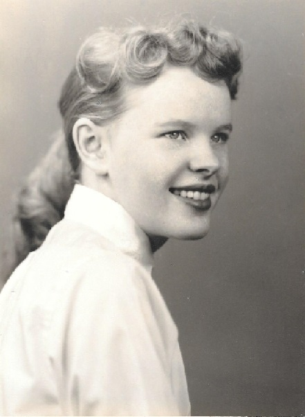 My mother's favorite picture of herself.