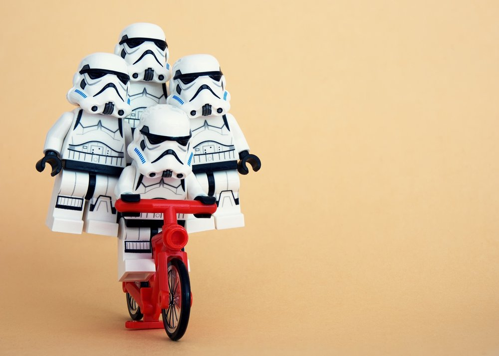 When in doubt, pick a Realtor that likes legos. And Star Wars.