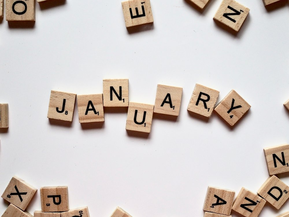 January is here, ready or not!