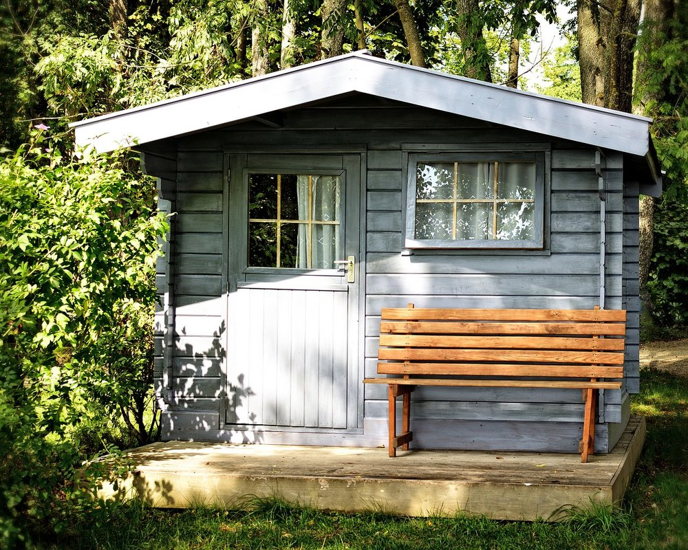 A shed is not often a candidate to become an ADU. (But they can be super-cute and useful!)