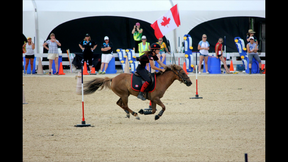 Jessie-lyn Broadway   Jessie-lyn has been riding much of her life and has been competing in Mounted Games for 10 years. She represented Canada at the World Team Championships in Kentucky in 2015 and again in Ireland in 2016. In 2016 Jessie-lyn was the Individual Champion in Ontario. Most recently, Jessie-lyn travelled to France to compete in the World Pairs Championships, alongside fellow teammate Lily Solomon. Jessie-lyn is looking forward to Nations Cup and the opportunity to meet riders from all across the world that share the same passion. Good luck to all the competitors!
