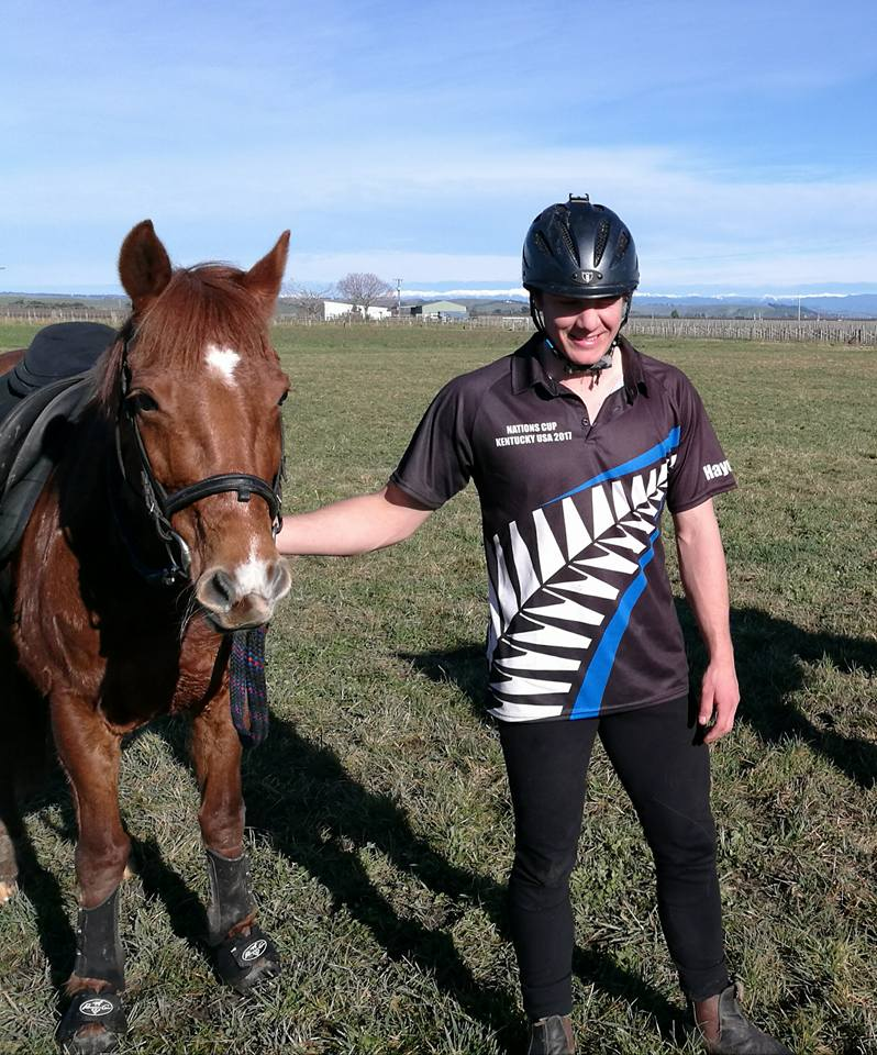 Hayden O'Leary   Hayden comes from a family of riders - his mum and two sisters also ride Mounted Games.  He has been riding games for a number of years and has been an important member of his local club.  In the winter Hayden plays rugby and is also very talented at this sport.