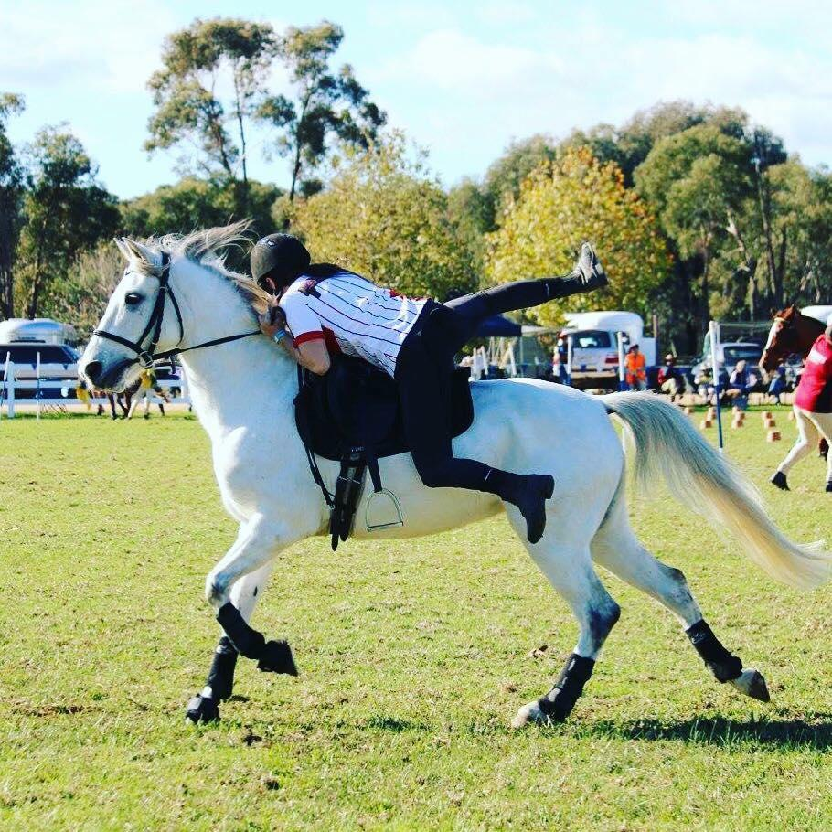 Kate Rodgers   I am from Melbourne, Australia and I'm 21 years old. I'm studying a bachelor of primary teaching. I have been riding horses for 13 years. I've been doing games the whole time I've been riding but I've recently come back to doing games competitively after having a break and doing 1* level eventing, competing in the Melbourne International 3 Day event. I have competed in numerous MGA national championships in Australia and this year I competed in New Zealand at HOY. I'm excited to be representing my county for the first time, especially as it will be alongside my brother and with awesome team mates.