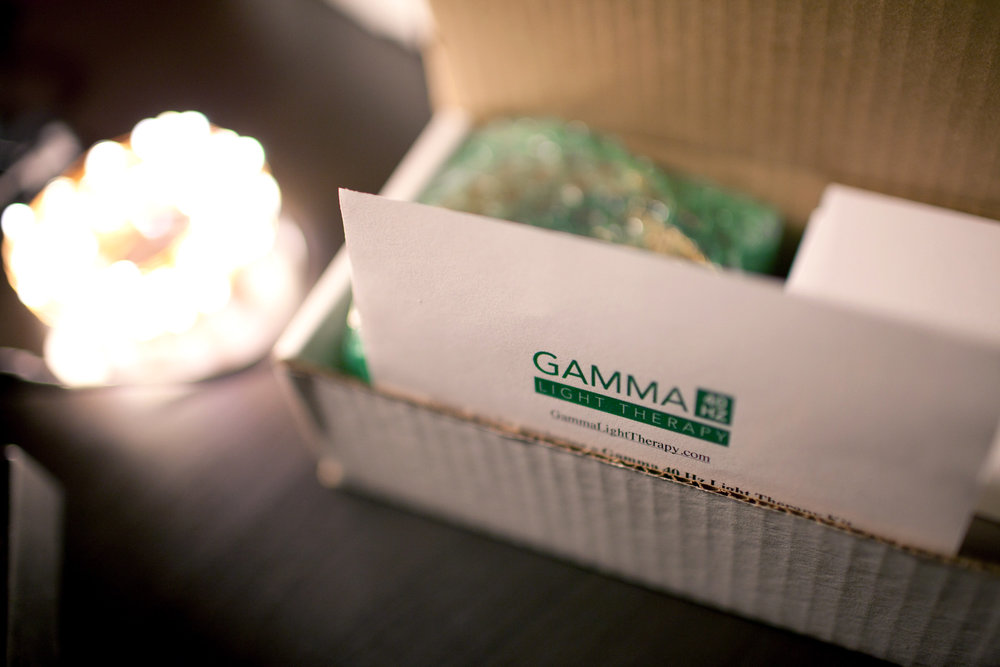 Gamma 40 Hz Lights Packaged