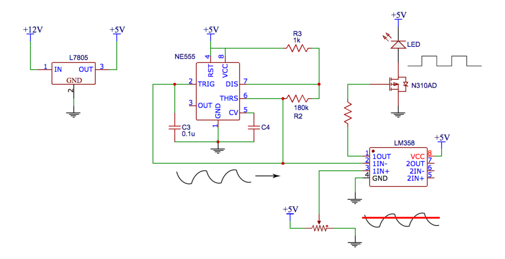40 Hz Flashing Led Schematic Wiring Diagram Portal