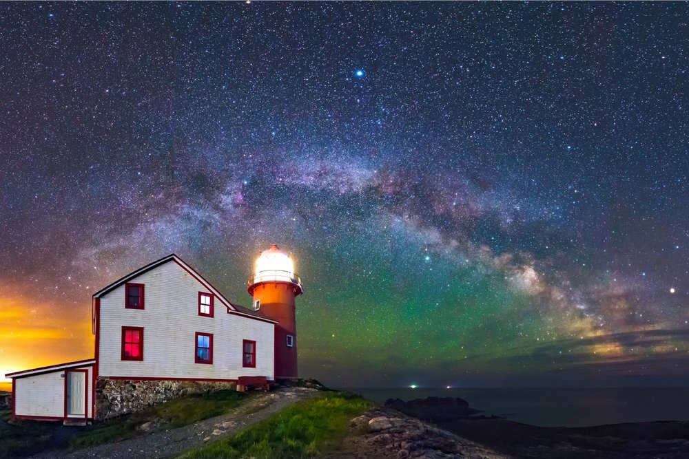 1 Ferryland LIghthouse Milky Way June 2016  2x3 - 1500px.jpg