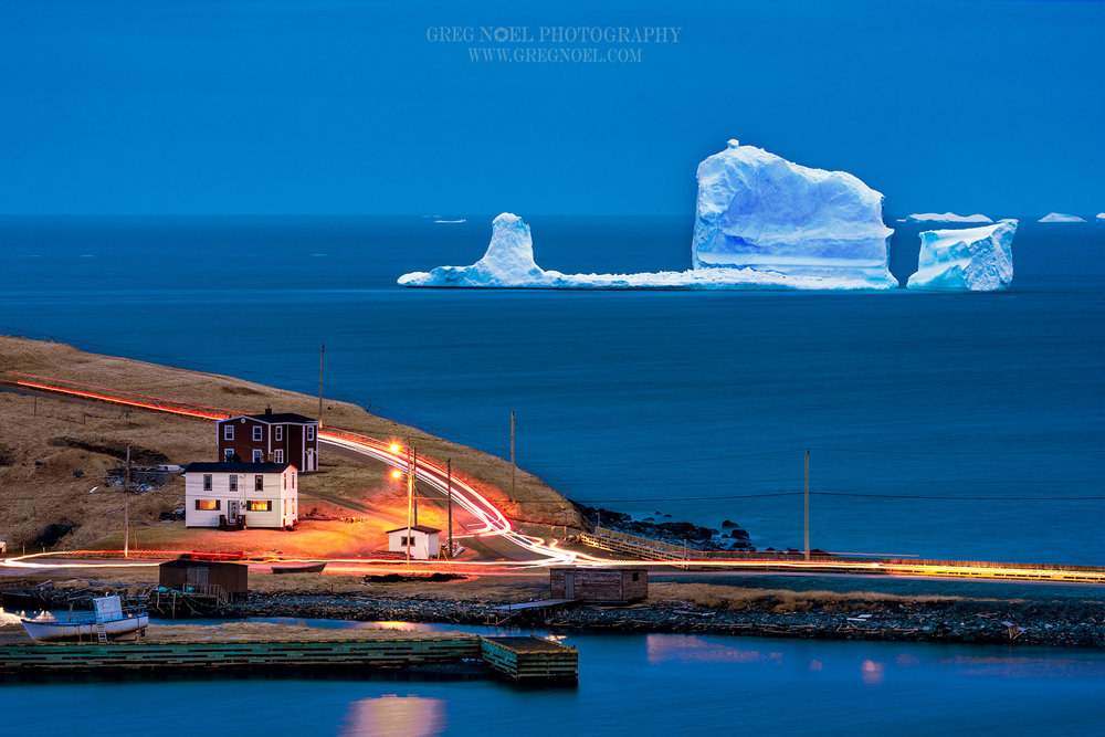 Ferryland Iceberg Traffic Trails