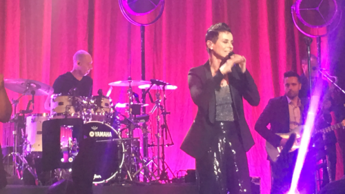 Lisa Stansfield live in Paris