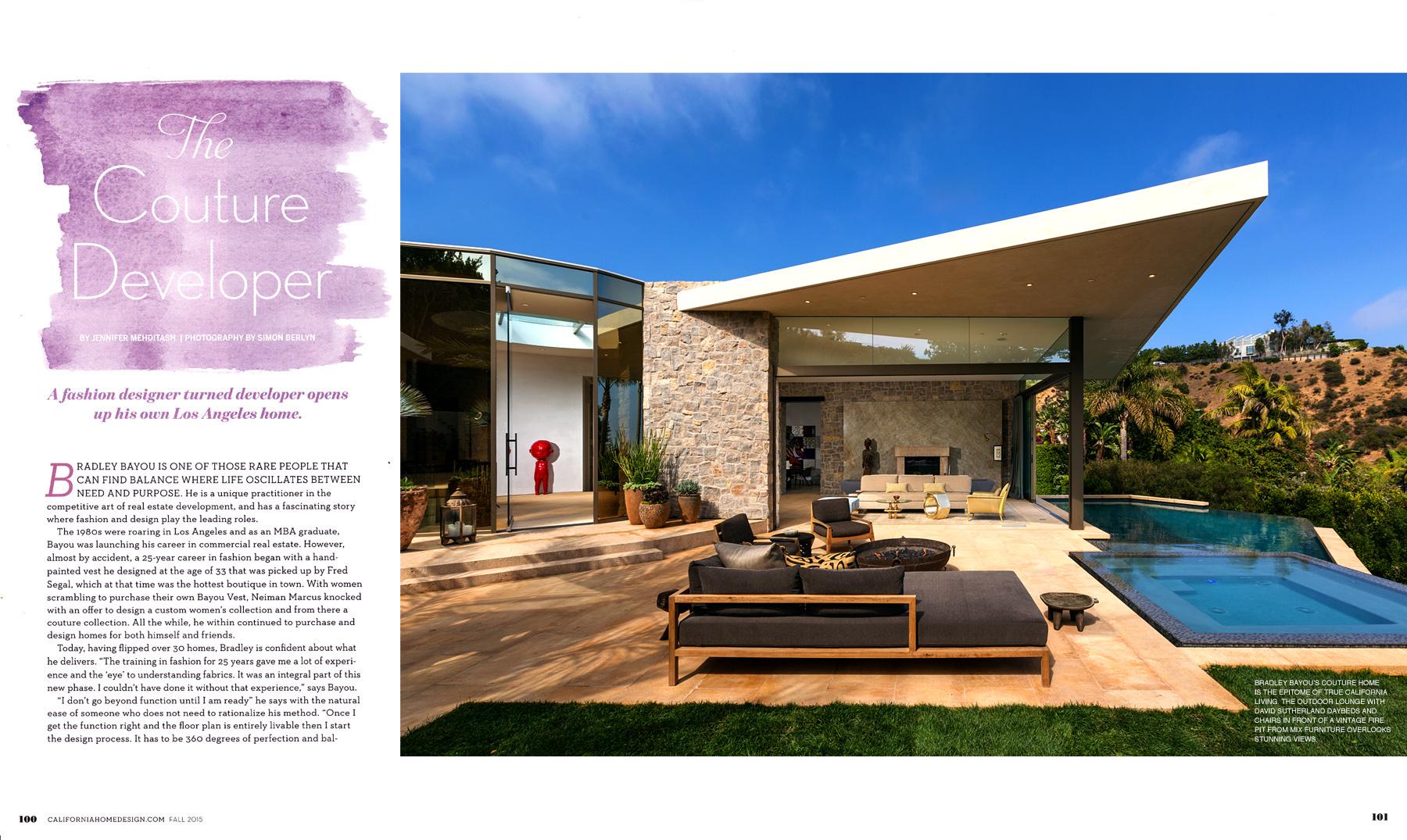 Ca Home Design press — bradley bayou design