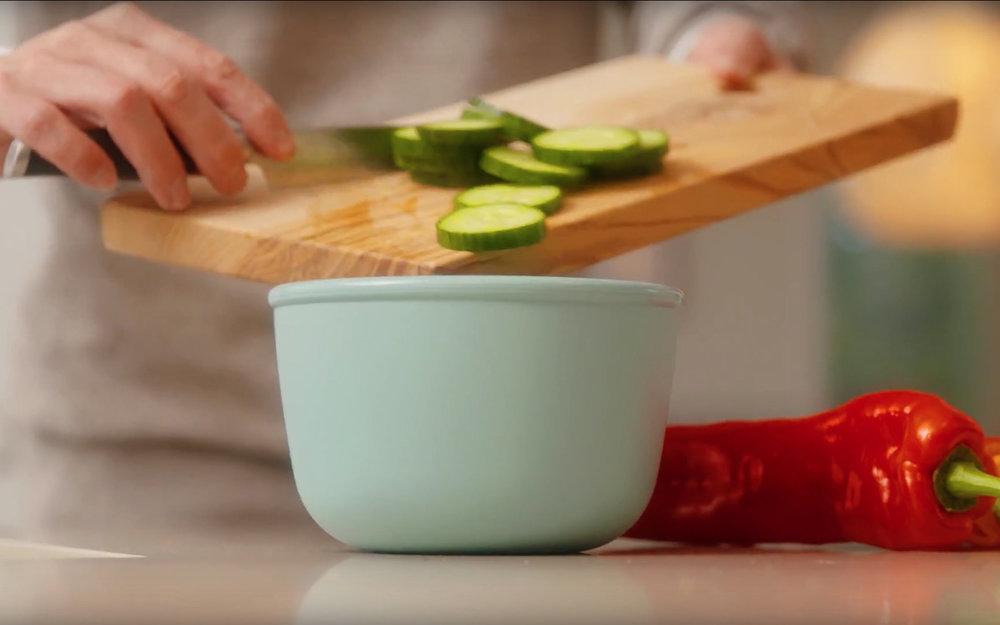 お料理のスピードもアップするので、残ってしまったら冷蔵庫でそのまま保存なんてことも可能です。