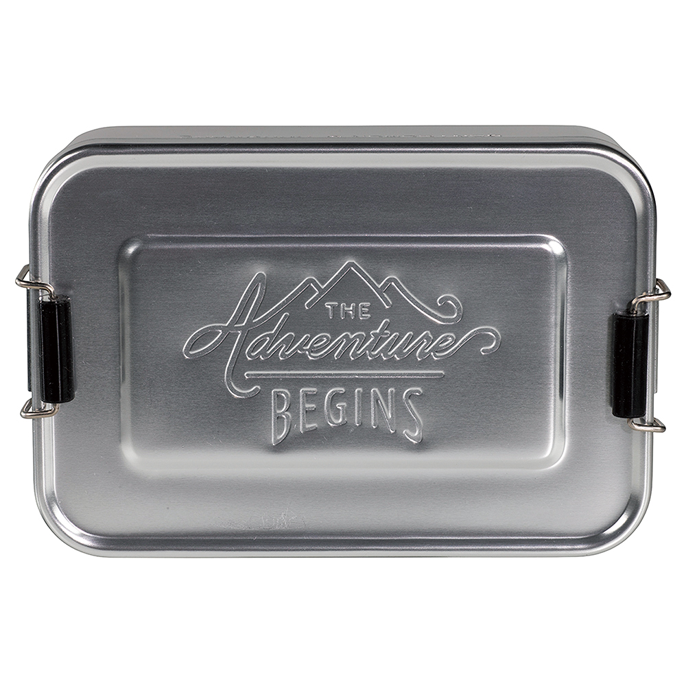 ■GEN Lunch Tin Silver/3,000