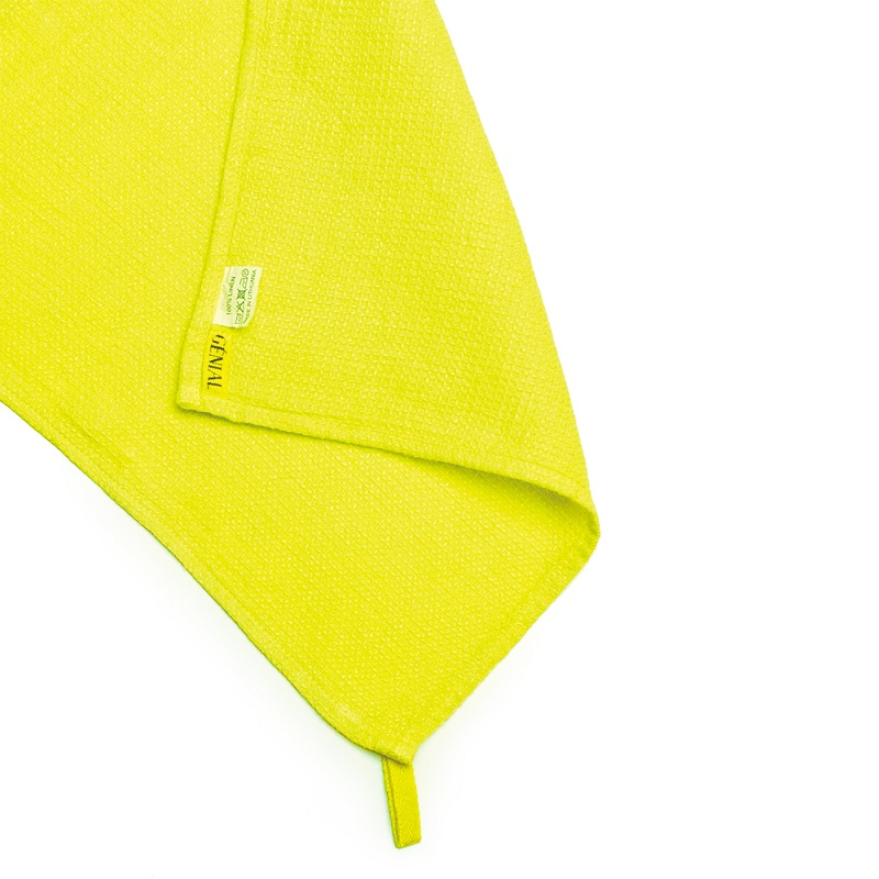 ■GENIAL KITCHEN CLOTH 30x30 YELLOW/900