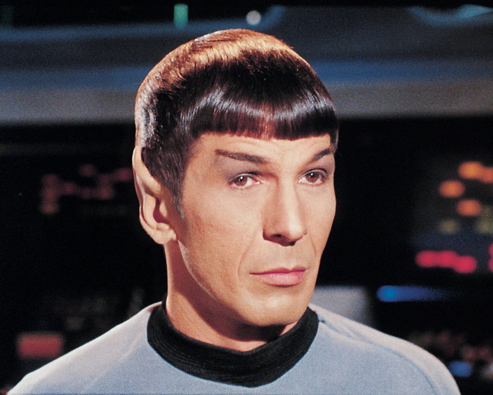 "Mr. Spock, Star Trek, ""Facinating, Captain."""
