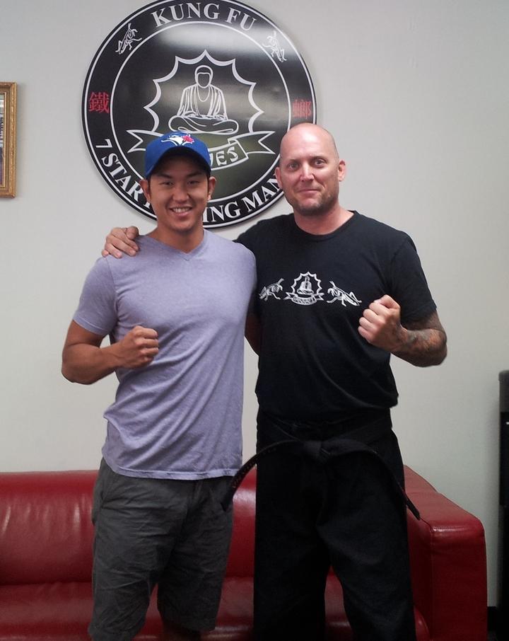 Dr. Blake Wu And Master Hughes