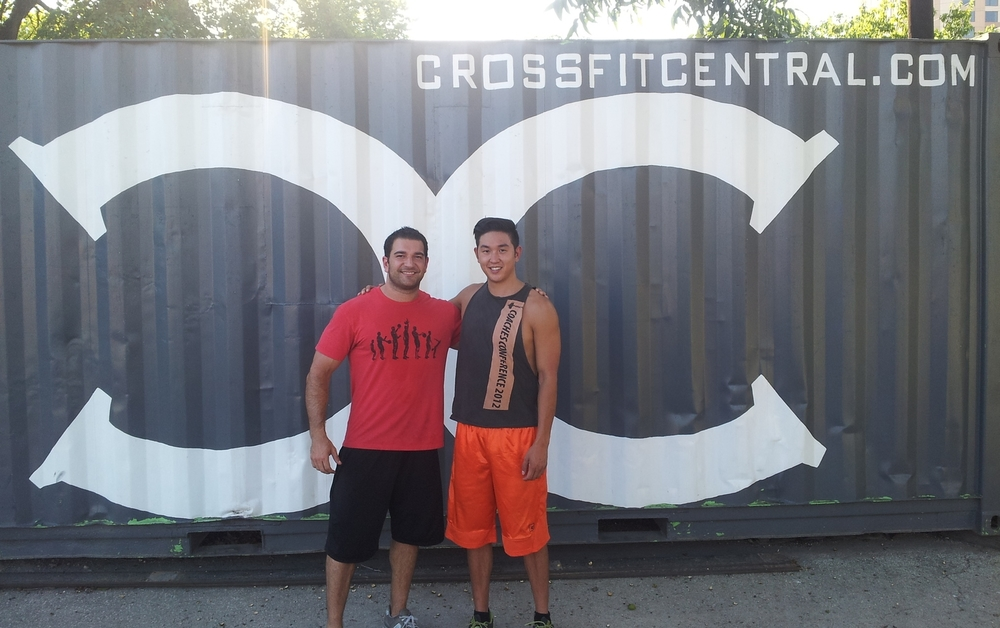 Dr. Mike McCalister and Dr. Blake Wu @ CrossFit Central Austin
