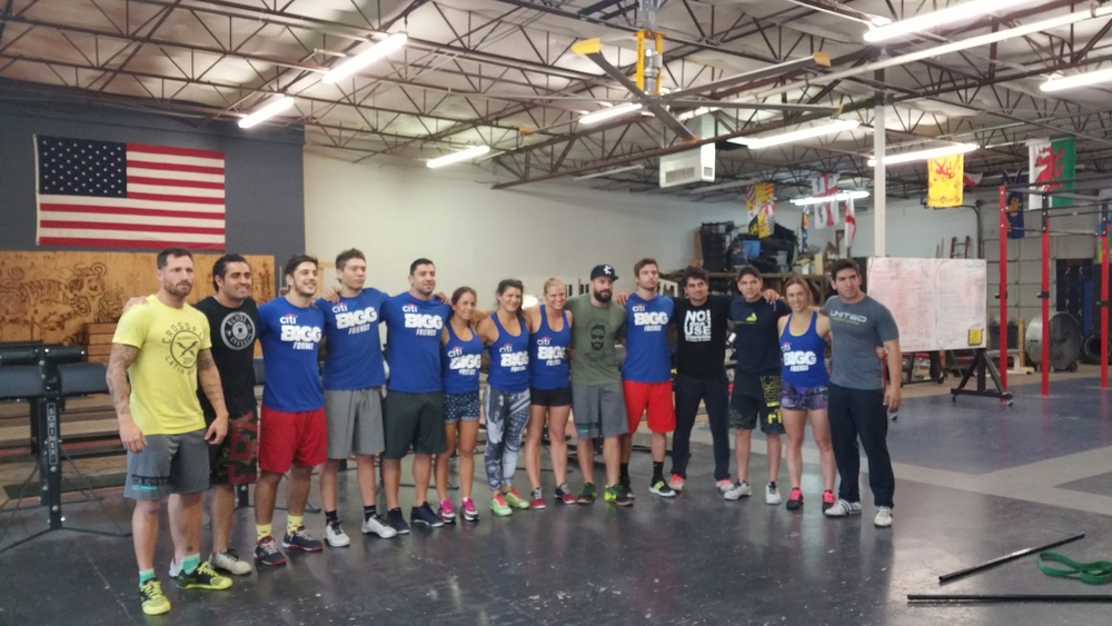 Regional Athletes from Mexico and Latin America prepping for 2015 Crossfit Regionals in Dallas