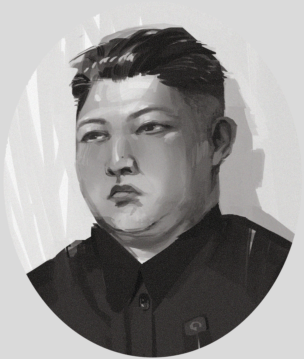 Kim Jong-Un, Leader of North Korea