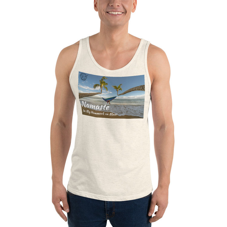 7331e881ff347f Namaste on Maui Bella + Canvas 3480 Unisex Jersey Tank with Tear Away Label