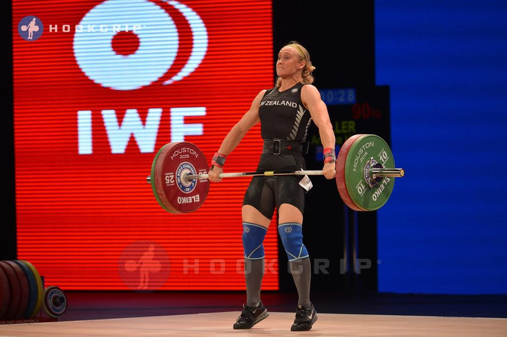 Andrea Miller Olympic Weightlifter