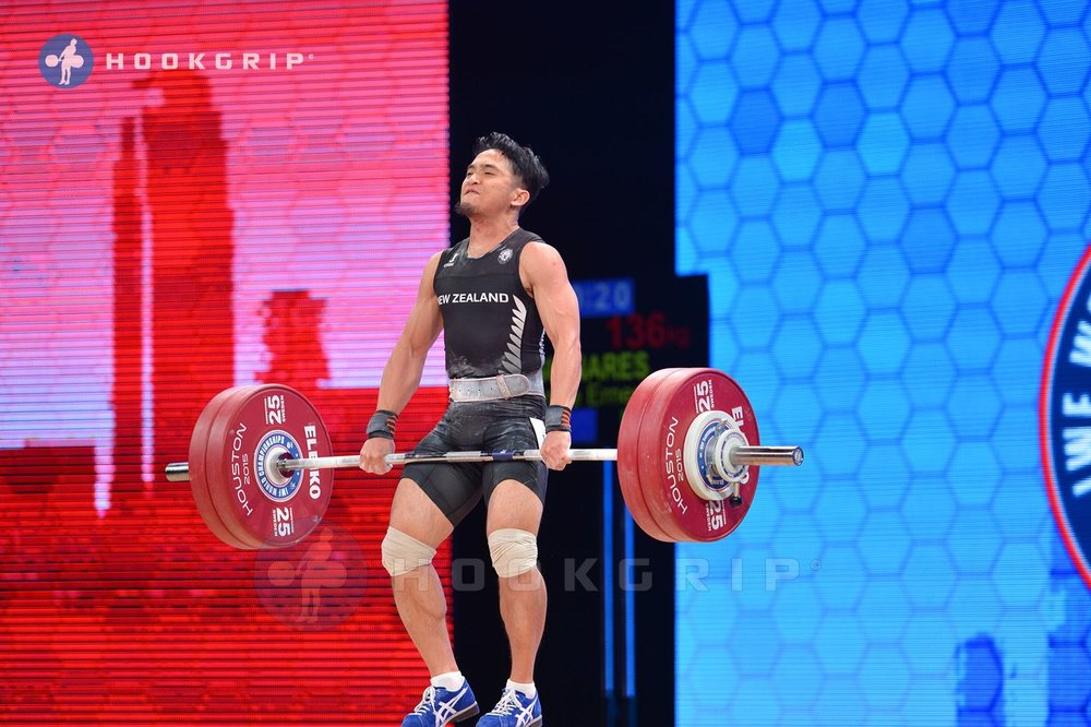 Ianne Guinares Weightlifter