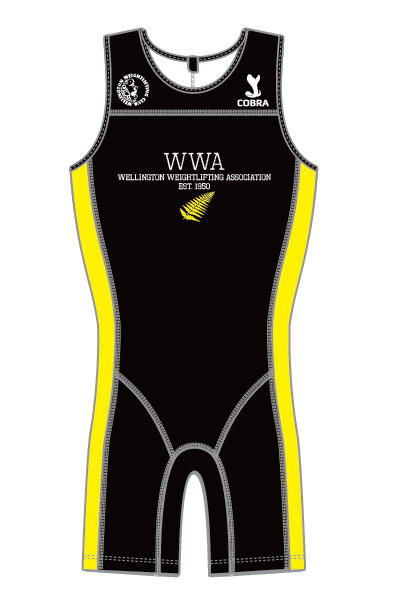 Wellington Weightlifting Association Suit - NZ
