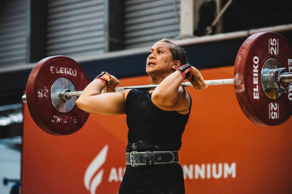 Cobra's Elite Black Womens Olympic Weightlifting Suit