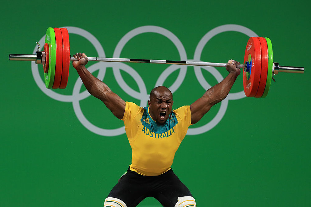 Australian Olympic Weightlifter