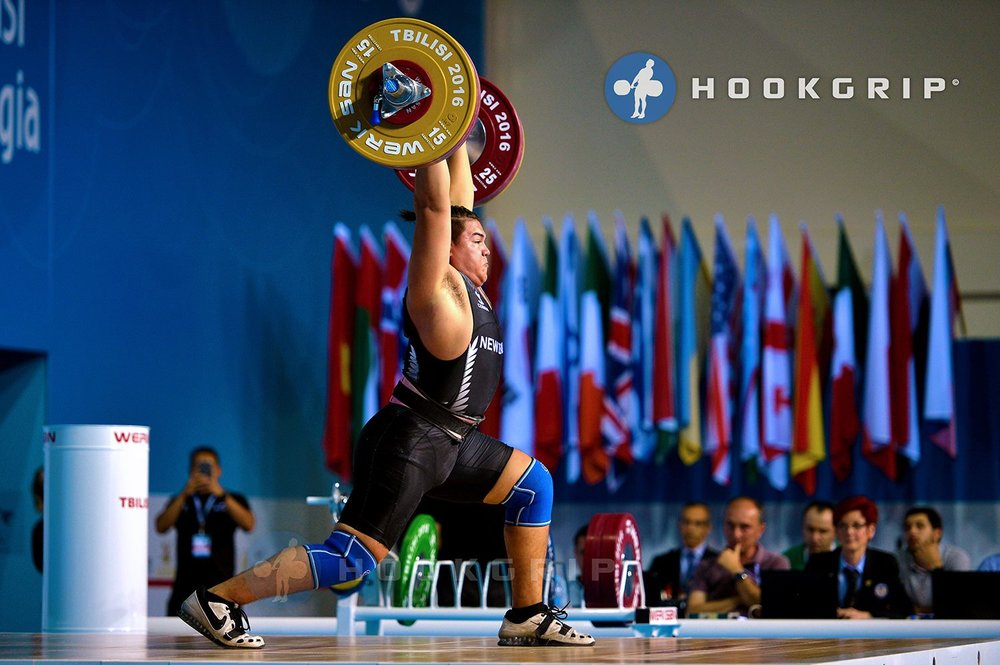 Vernon Taylor Olympic Weightlifter New Zealand