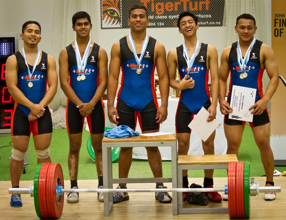 Netfit Olympic Weightlifting Team